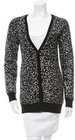 Alice + Olivia Sequined Wool Cardigan