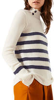 Jigsaw Cashmere Henriksen Striped Jumper