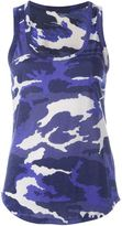 Majestic Filatures camouflage print tank top