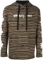 Blood Brother multi print striped hoodie - men - Cotton - S