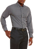 Daniel Cremieux Signature Non-Iron Mini Checked Long-Sleeve Shirt