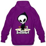 DMCYG Singer Blind Skateboard Skull Kids Men's Blank Hoodies SweatShirt