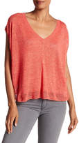 Zadig & Voltaire Tifle Short Sleeve Linen Shirt