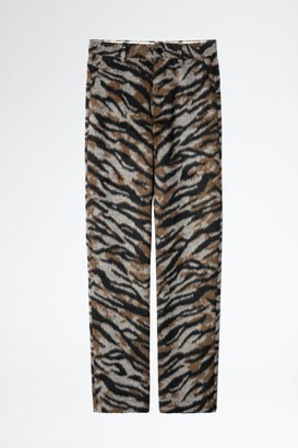 Zadig & Voltaire Polk Soft Tiger Pants