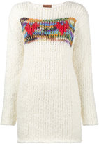 Missoni hearts hand knitted chunky jumper
