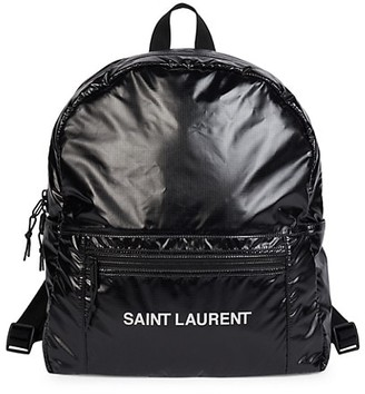 Saint Laurent Faux Leather Backpacks