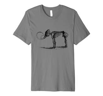 Fossil Geology Tees Mammoth T-Shirt Wooly Mammoth Skeleton Mastodon