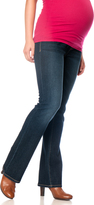 Motherhood Indigo Blue Long Secret Fit Belly Boot Cut Maternity Jeans