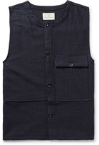 The Lost Explorer - Traveler Boiled Wool and Cotton-Blend Sweater Vest