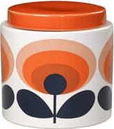 Orla Kiely 70s Oval Storage Jar - 1L - Orange
