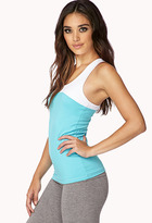 Forever 21 Two-Toned Workout Tank
