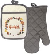 Celebrate Fall Together Grateful Oven Mitt & Potholder Set