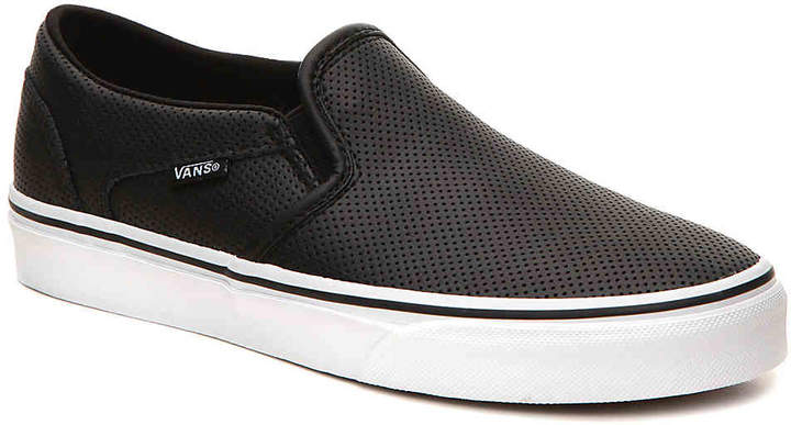 Asher Perforated Slip On Sneaker Women's