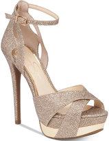Jessica Simpson Wendah Platform Evening Sandals