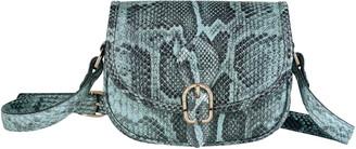 Longchamp Small 1980 Python Embossed Leather Crossbody Bag