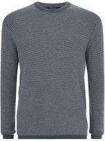 Polo Ralph Lauren Striped Crew Neck Cotton-Cashmere Sweater