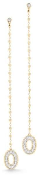 Alor 18K Yellow Gold Diamond Drop Earrings - 0.16 ctw