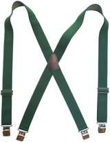 """Suspender Station 1.5"""" Wide Suspenders Non-Slip Slide Adjusters Solid Colors"""
