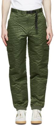 Clot Green Nylon Boiler Cargo Pants