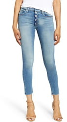 Hudson Jeans Nico Button Fly Ankle Skinny Jeans