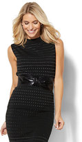 New York & Co. 7th Avenue Design Studio - Sleeveless Funnel-Neck Sweater