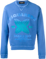 DSQUARED2 Honolulu Shaper of Boards sweatshirt - men - Cotton - L