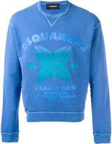 DSQUARED2 Honolulu Shaper of Boards sweatshirt