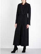 Ann Demeulemeester Shawl collar wool-blend coat