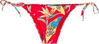 Moschino Graphic Print Bikini Bottoms
