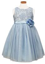 Sorbet Girl's Floral Lace Ballerina Dress