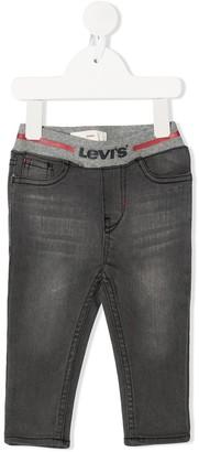 Levi's Ribbed-Waist Skinny Jeans