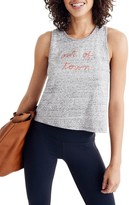 Madewell Women's Out Of Town Crop Tank