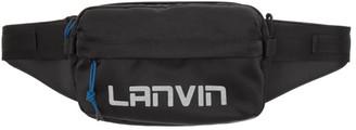 Lanvin Black Crossbody Bum Bag