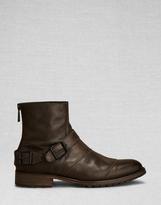 Belstaff Trialmaster Short Boot Black