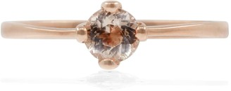 Lee Renee Morganite Petal Ring -Rose Gold
