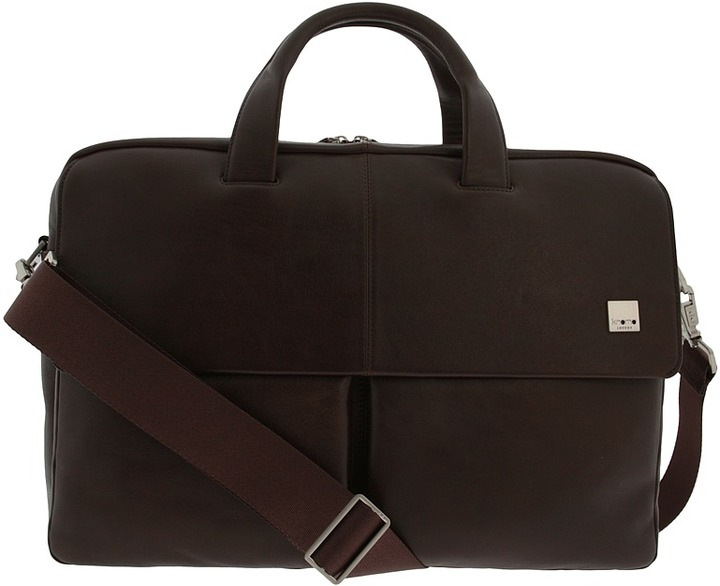 Knomo London Dundee Single Compartment Laptop Briefcase