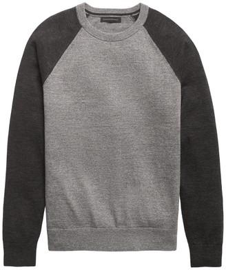 Banana Republic Organic Cotton Raglan Sweater