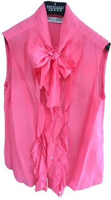 Viktor & Rolf Pink Silk Top for Women