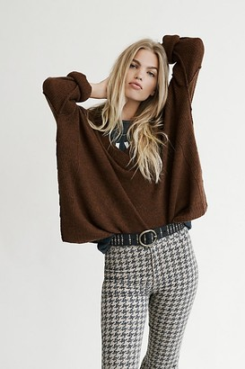 Free People Think Of You Cashmere Tunic