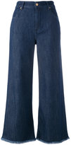 7 For All Mankind cropped jeans - women - Cotton/Polyester/Spandex/Elastane/Modal - 25