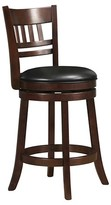 "Homelegance Wolcott Swivel 24"" Counter Stool Wood"