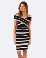 Forever New Stripe Bodycon Dress
