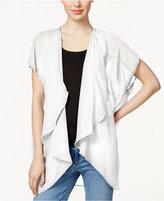 Collection XIIX Solid Cap Sleeve Kimono