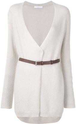 Fabiana Filippi V-neck belted jacket