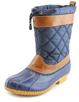 Isaac Mizrahi Sleet Round Toe Canvas Snow Boot.
