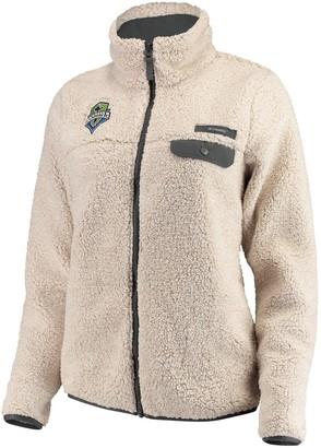 Women's Columbia Tan Seattle Sounders FC Mountainside Full-Zip Jacket