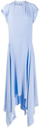 Erika Cavallini Asymmetric Flared Dress