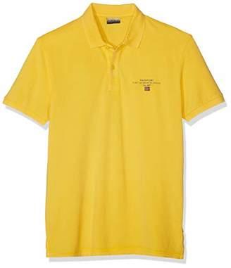 Napapijri Men's Elbas 2 Polo Shirt, (Freesia Yellow Ya7)