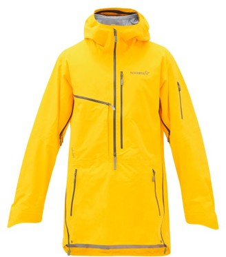 Norrona - Lofoten Hooded Longline Gore-tex Pro Ski Jacket - Yellow