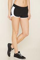 Forever 21 FOREVER 21+ Active Contrast-Trimmed Shorts